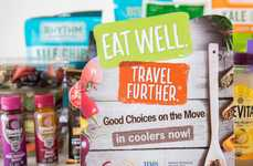 Healthy Travel Pop-Ups - 'Eat Well. Travel Further.' Lets Travelers Eat Healthy in Transit
