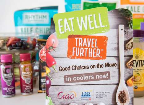 Healthy Travel Pop-Ups