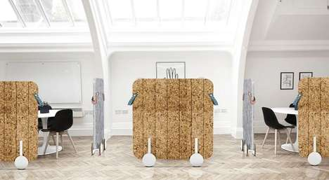 Biodegradable Office Dividers