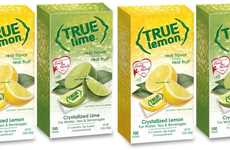 Premium Citrus Drink Crystals - The True Citrus Drink Mixes are Made from Simple Ingredients