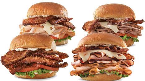 Triple-Thick Bacon Sandwiches