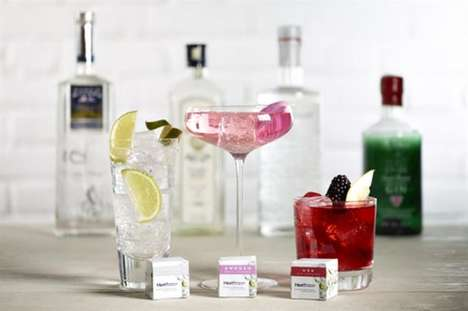 Gin-Flavoring Tea Bags - Heathrow's 'G&T-bags' Celebrate the Heathrow Gin Festival