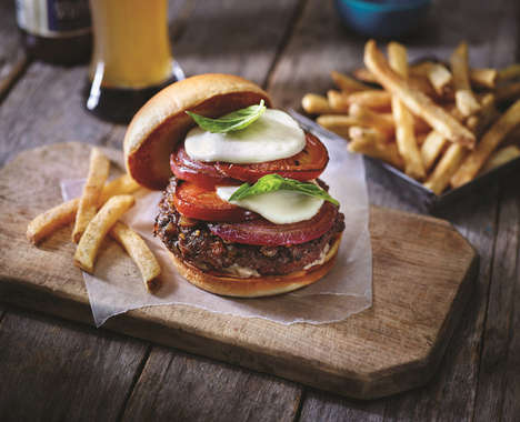 65 Innovative Burger Menus