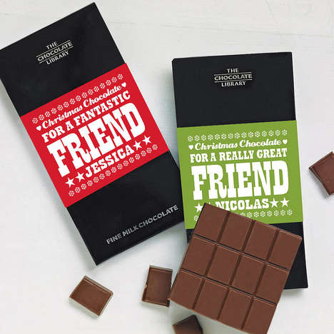 Christmas Friendship Chocolates