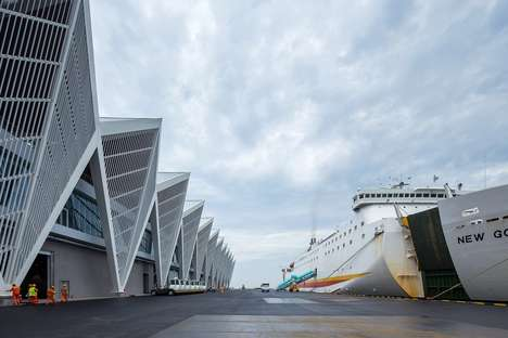 Nautical Cruise Terminal Designs