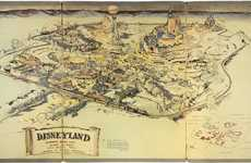 Historic Disneyland Maps