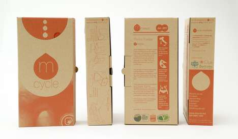 Tampon Delivery Systems - Tampon Delivery Concept 'mCycle' Turns Sanitary Products into Compost