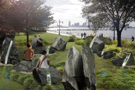 Riverside LGBT Memorials - The LGBT Memorial Commission has Released a Concept for Hudson River Park