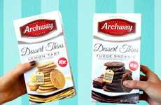 Crispy Dessert-Inspired Cookies - Archway's New Dessert Thins Come in Indulgent Flavors