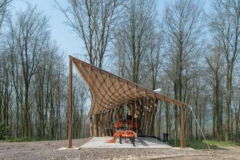 Timber-Testing Shelters