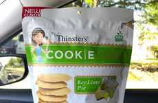 Ultra-Thin Key Lime Cookies - Mrs. Thinster's Cookie Thins Now Come in a Key Lime Pie Variety