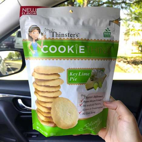 Ultra-Thin Key Lime Cookies