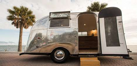 Traveling Retail Trailers - 'Miansai's' Vintage Refurbished an Airstream to Boost Retail Sales