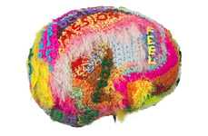 Artistic Brain Health Initiatives - The Brain Project Features Sculptures from a Range of Artists