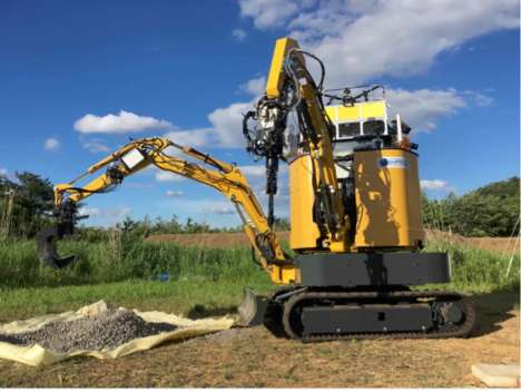 Ambidextrous Disaster Relief Robots - This Robot Excavator Can Hasten Tricky Excavation Operations