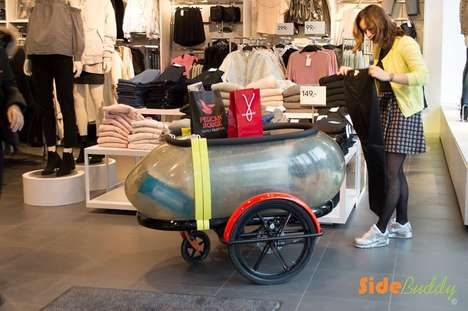 Capsule-Shaped Cycle Sidecars