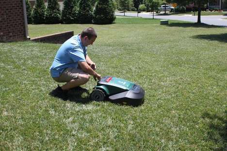Robotic Lawn-Mowing Startups - HomeVP Installs Lawn-Mowing Robots In Your Home For a Monthly Fee