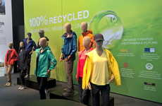 100% Recycled Jackets - The Jack Wolfskin Waterproof Coats are Made Wholly Out of Recycled Materials