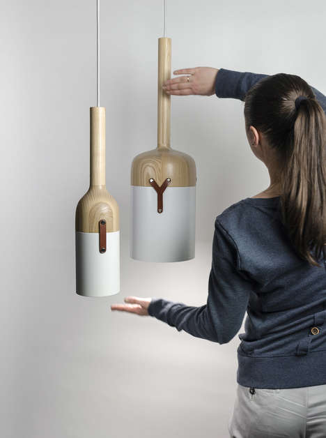 Hazelnut-Inspired Hanging Lights