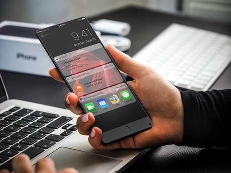 Bezel-Less Anniversary Smartphones