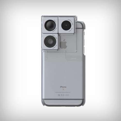 DSLR Lenses Smartphone Cases