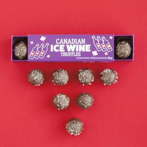 Ice Wine-Infused Truffles