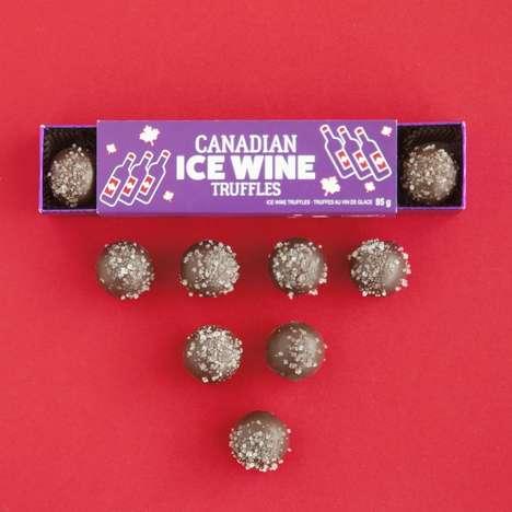 Ice Wine-Infused Truffles