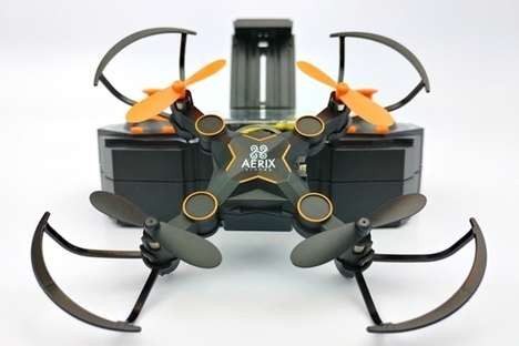 Collapsing Mini Drones - The Aerix Varius FPV Mini-Drone is Small Enough to Fit in a Pocket
