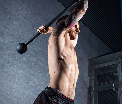 Antiquated Weaponry Workout Equipment - The Steel Mace Lets You Exercise Like a Warrior