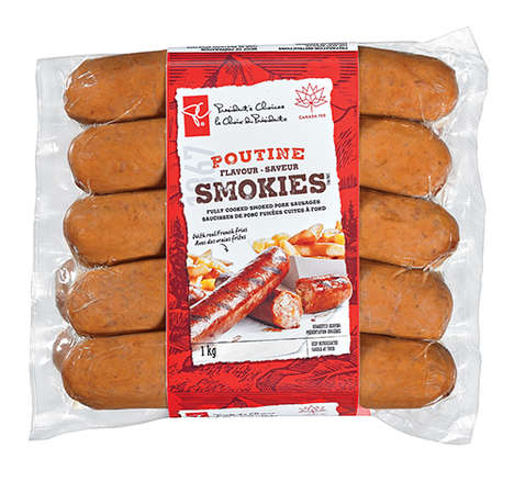 Poutine-Flavored Sausages