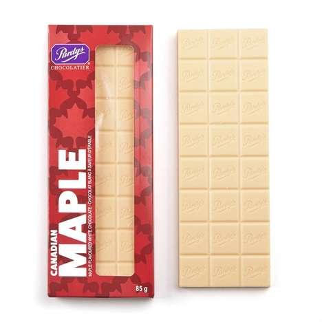 Maple-Flavored Chocolates