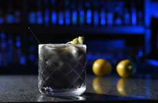 Charcoal-Infused Cocktails - 'The Dark Night' is a Dark, Detoxifying Drink Served at Minnow