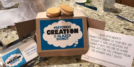 Oreo is Sending #MyOreoCreation Prototypes to Individual Fans