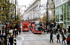 Retail-Focused Smart Streets - London's Intelligent Bird Street Features Pedestrian-Powered Retail
