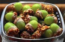 Taffy-Covered Grapes - Taffy Grapes Have Become Popular in Chicago Takeout Restaurants