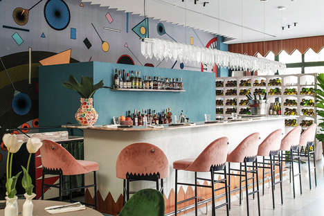 Playfully Artistic Restaurants