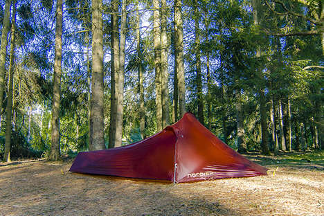 Ultra-Light Hiking Tents - The Nordisk Lofoten 1 ULW is Designed for Solo Camping