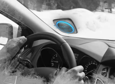 Ultrasonic Windshield Defrosters - The 'Iglu' Windshield Defroster Gets Cars Set for Winter Driving