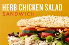 Seasonal Chicken Salad Sandwiches