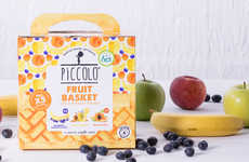 Nutritious Baby Food Baskets - Piccolo Curates Healthy Food Puches for Infants