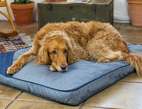 Upcycled Material Dog Beds - The Toad & Co. Eco Dog Bed Hasn't Been Treated with Additional Dyes
