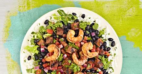 Summery Roasted Shrimp Entrees