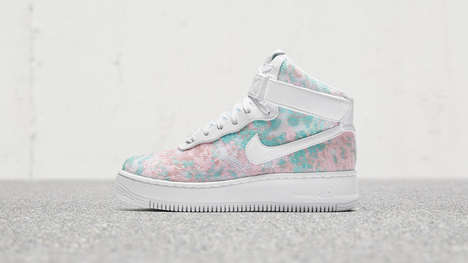 Sequin-Covered Fantasy Sneakers