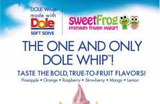 Whipped Dairy-Free Desserts - sweetFrog is Now Offering Disney's Famous DOLE WHIP Dessert