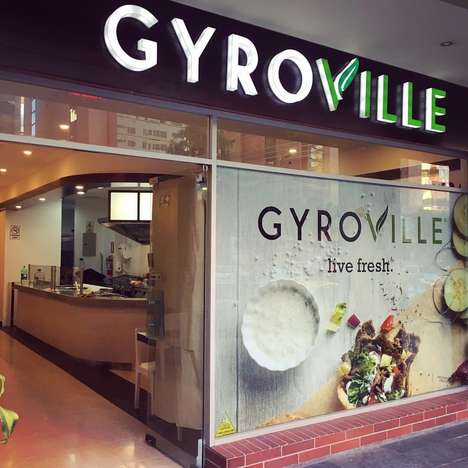 Mediterranean-Style Quesadillas - Gyroville's New Gyrodilla is a Cross Between a Gyro and Quesadilla