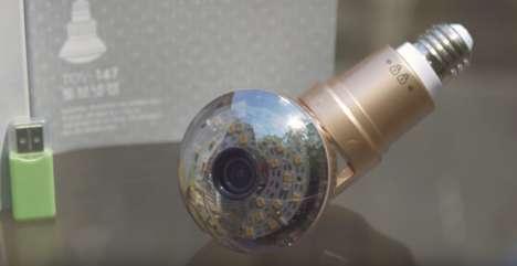 WiFi Light Bulb Cameras