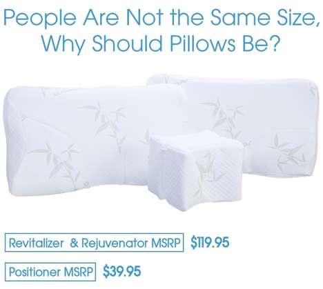 Adjustable Ergonomic Pillows