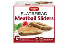 Meat-Stuffed Flatbread Sandwiches - Sandwich Bros' Frozen Flatbread Pockets Include Premium Proteins