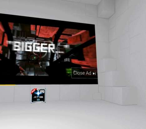 Virtual Reality Advertisements - Google is Experimenting with Ads to Be Placed Inside of VR Worlds