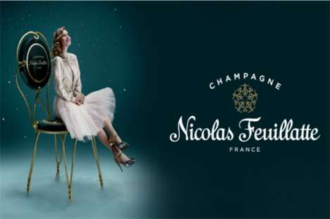 VR Champagne Tastings - Nicolas Feuillatte is Set to Host a VR Tasting Experience